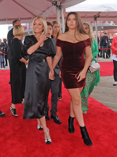 Kelly Ripa And Her Daughter Lola Grace Consuelos Attend