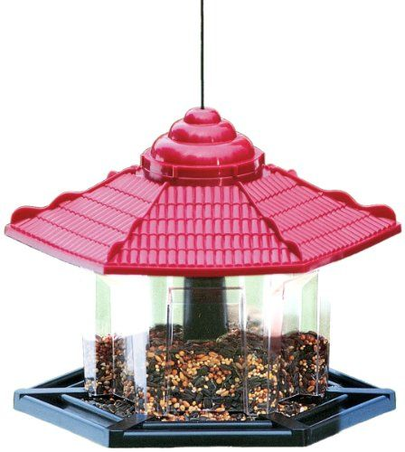 $16.00-$16.00 Asian influence styled bird feeder. Great for backyard birding enthusiasts.