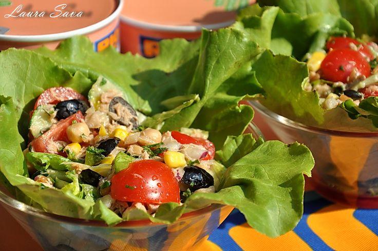 Salata de ton, o salata usoara de vara  #RIOMare #Insalatissime