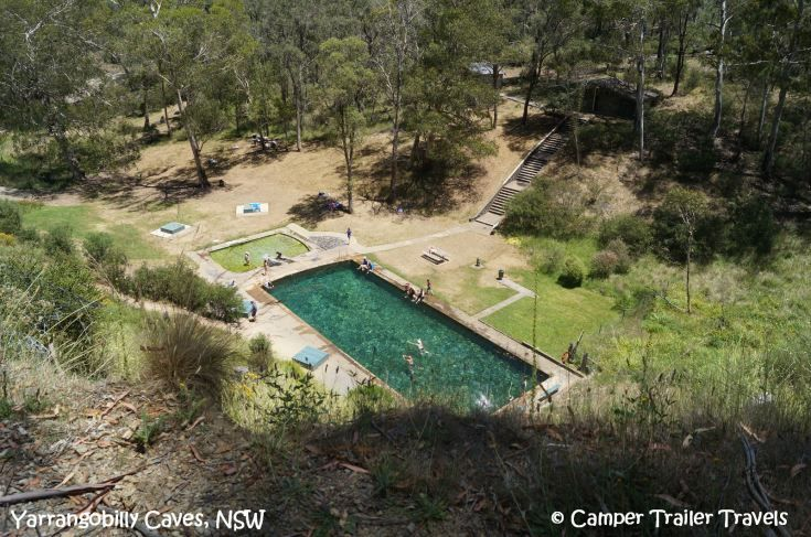 A little oasis in the middle of nowhere - the Thermal Pool at Yarrangobilly.