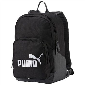 Rebel Sport - PUMA Phase Backpack Black 20 Litres