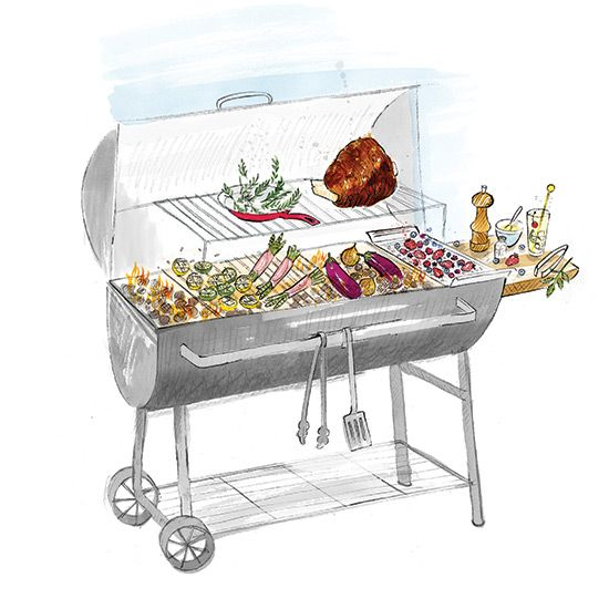 Grilling with Live Fire on Food & Wine