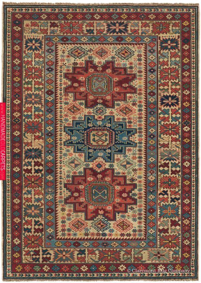 Antique Collectible Caucasian Rugs