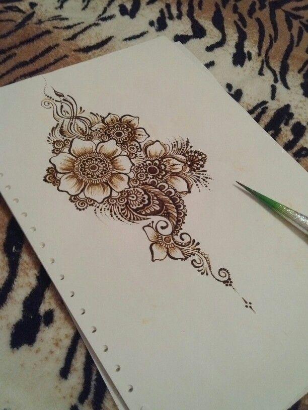 Beautufull mehndy, mehendi, love henna <3