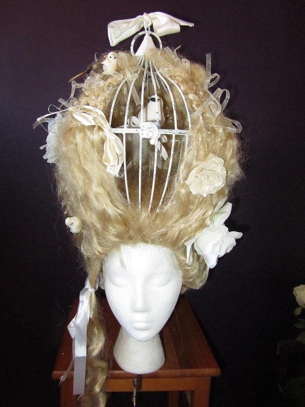 Wig, Birdcage, 18th ce...