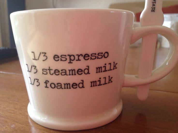 Koffie kopje, kleine letter, bold, horizontaal