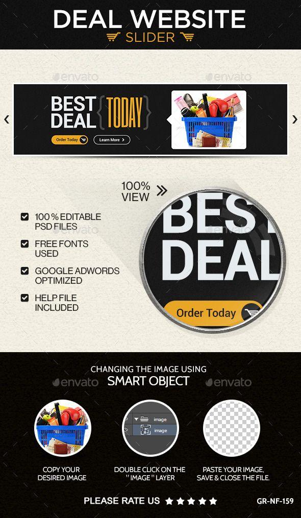 Deal Website Slider/Hero Image