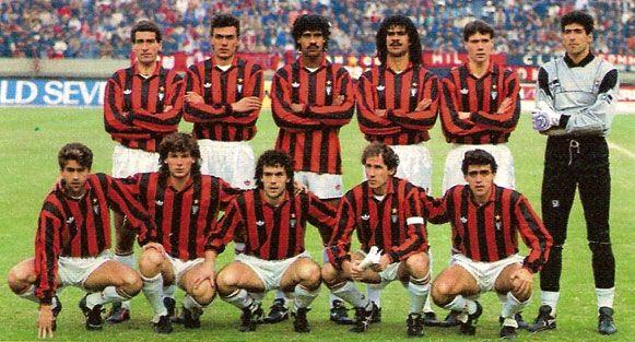 AC Milan Ende 80iger