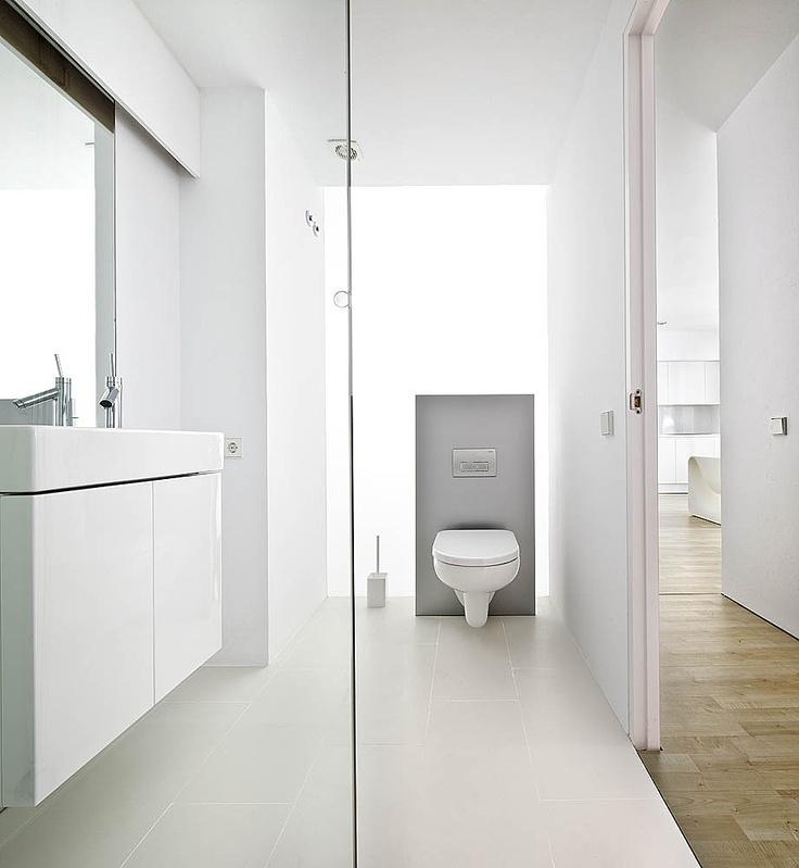 Small Minimal Apartment Design in White | Modern Design