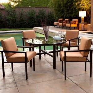 Best 25+ Contemporary outdoor dining furniture ideas only on ...