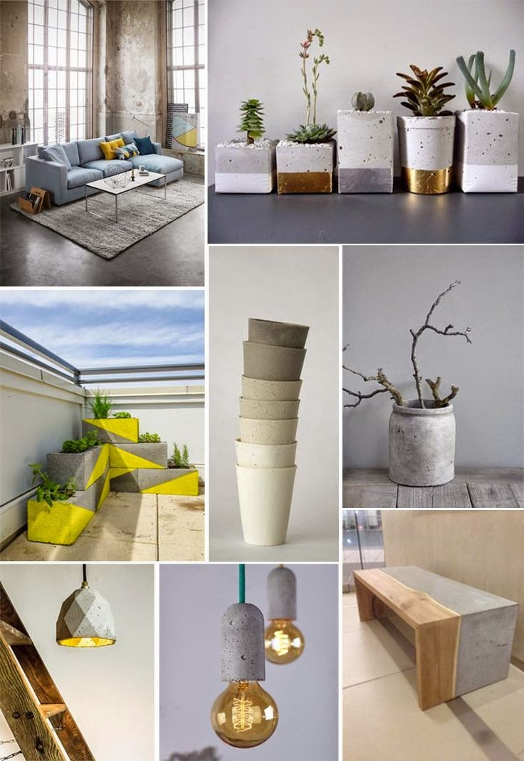 Pointless Pretty Things: Home Trend Concrete
