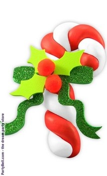Christmas Candy Cane Foam Clay Kit  $2.21