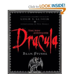 Dracula is a great book, but the annnoted version is so interesting. Every time I read it there's something new to check out or look at simply because there is so much information