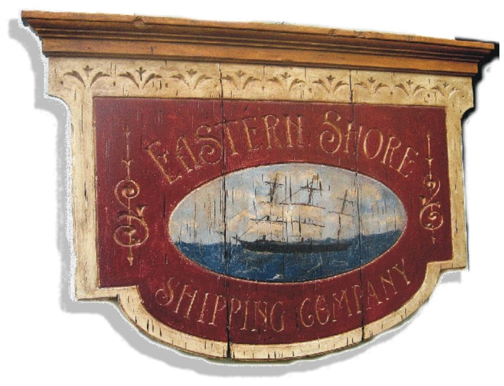 Chesapeake Bay Eastern Shore home decor  Sign would be nice as a headboard, over a fire place, or in a hallway.  We could find some wood planks and paint our own sign(s) in your choice of colors.
