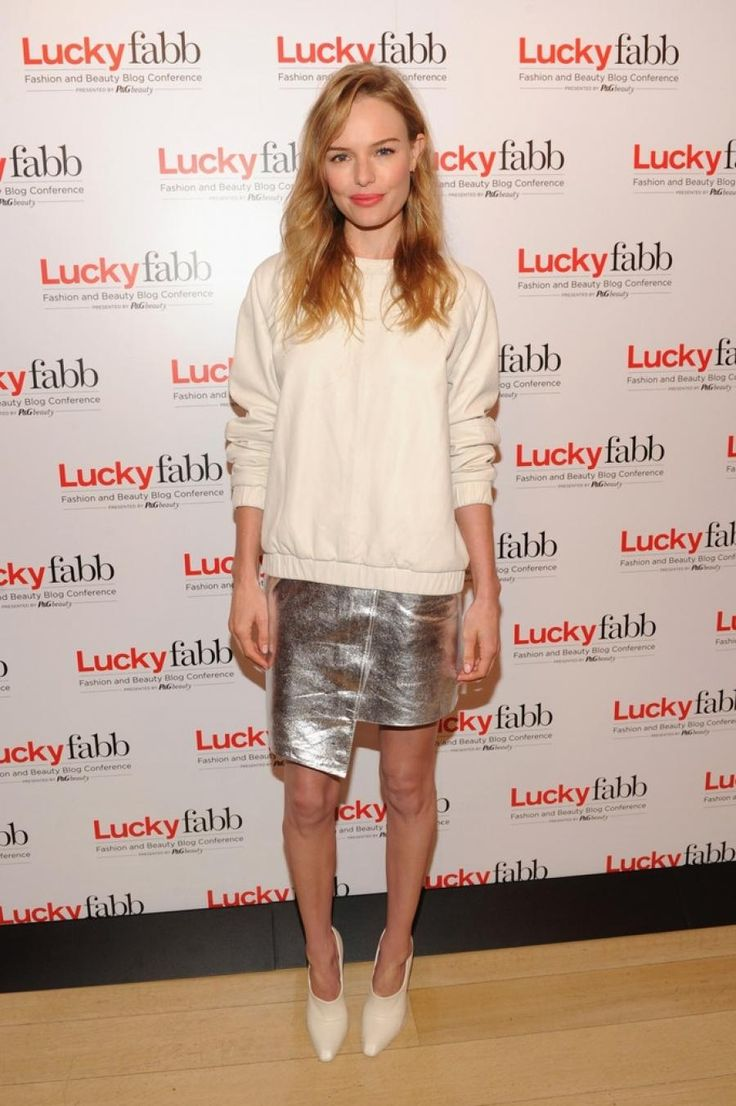 Kate Bosworth wearing Topshop - Lucky Magazine's FABB Conference #luckyFABB