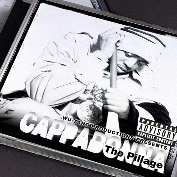 Cappadonna – The Pillage | CD Package Design