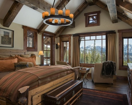 Best Rustic Bedrooms Images On Pinterest Rustic Bedrooms