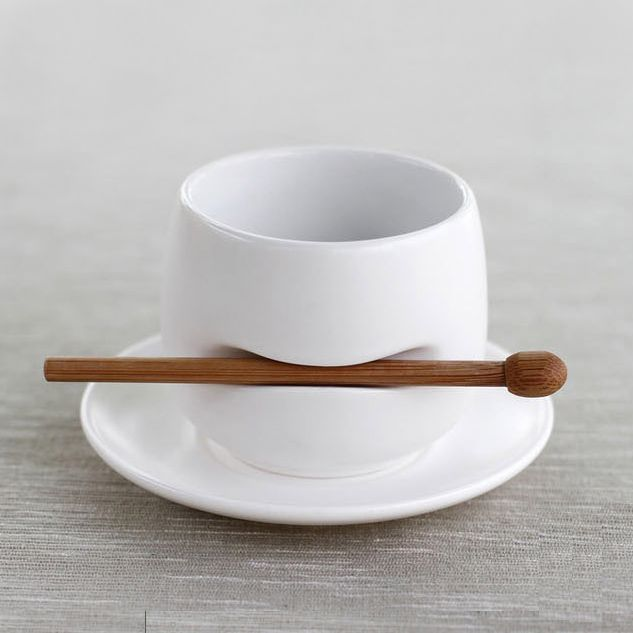 Tea cup w/ stirrer