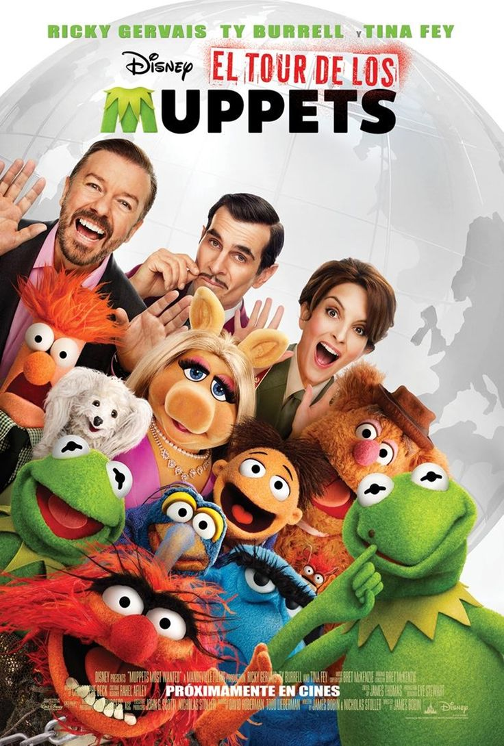 2014 - El Tour de los Muppets - Muppets Most Wanted - tt2281587