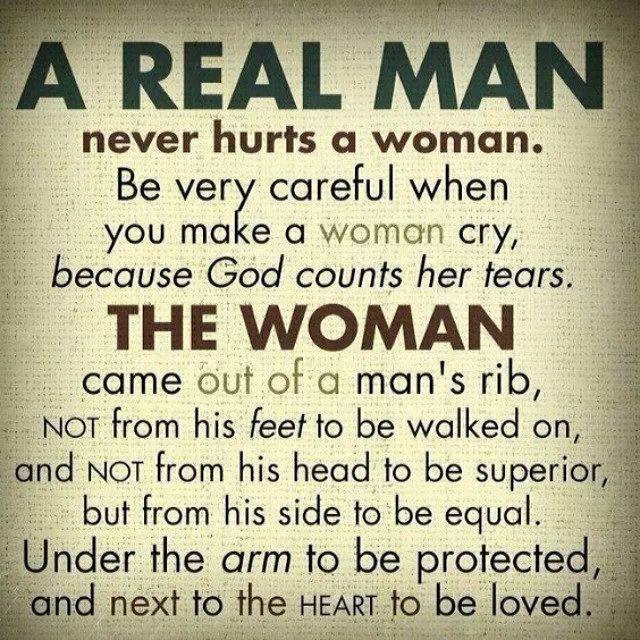 Real man...just random but strong