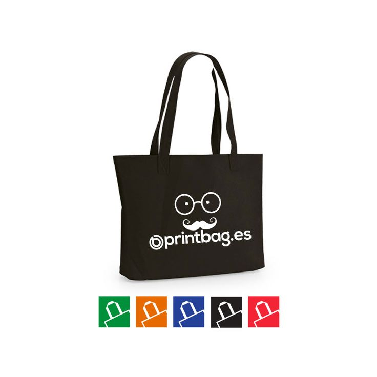 bolsas baratas personalizadas color negras en fieltro