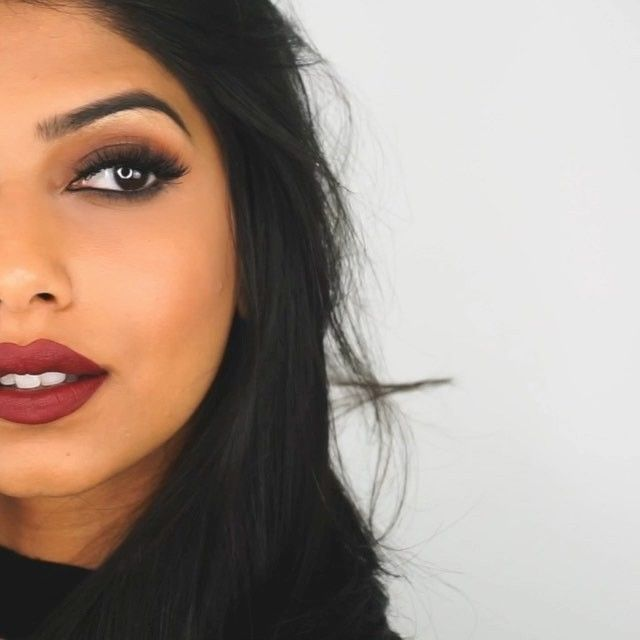 Fall lipsticks for medium / brown / olive skin tone.