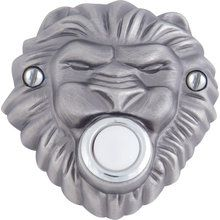 View the Atlas Homewares DB639 Renaissance Collection 3 Inch Lion's Head Lighted Door Bell at PullsDirect.com. $35.53