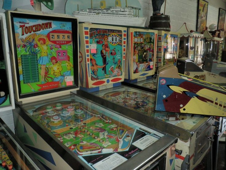 Williams Touchdown Pinball For Sale And More