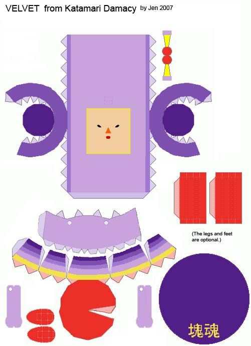 Best Papercraft  Katamari Damacy Images On