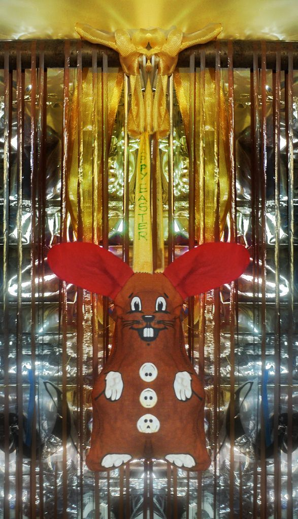 """Science Busters: """"Wieviel Eier hat der Osterhase"""" - Wer nichts weiß muß alles glauben (Marie von Ebner Eschenbach) (youtube) Part of: """"Weaving Diary Tapestry Aktion Tagebuch Teppich Tapisserie Tagebuch weben 365 days project 2: 2015 2016"""" 27. März 2016 Ostersonntag: Geschenke vorbereiten - timeline zeitliche Abfolge golden thread goldener Faden: 1. 1. - 17. 1. red thread roter Faden 18. 1. - 9. 2., led lichterkette: ab 10. 2. Fastenbeginn - Esoterik Entlarvung Lichtnahrungsprozess ab 2. 3…"""