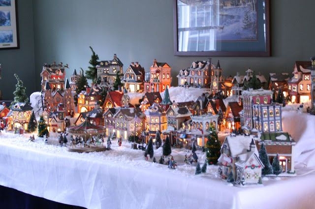 Christmas Village- Hope to be here one day!