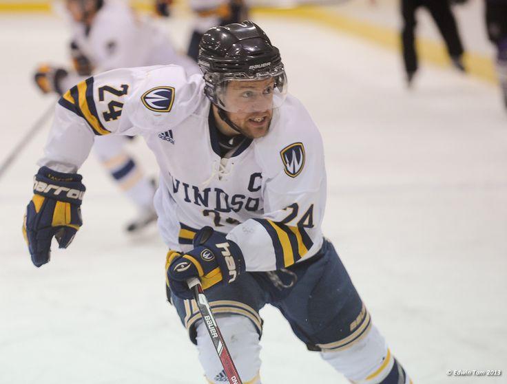 Brett Vandehogen, 2012-13 Men's Hockey, Credit: Edwin Tam