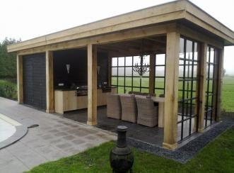 Rene Houtman - Landelijk Poolhouse - Stalen deuren en ramen - www.renehoutman.nl
