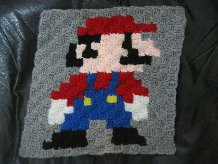 409 best Patrones c2c crochet images on Pinterest | Disney cross ...