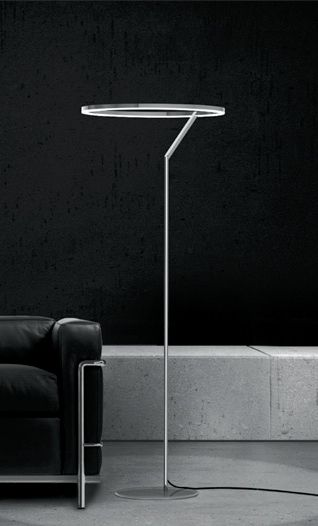 Circolo Insospeso floor light | lighting . Beleuchtung . luminaires | Design: Sattler |
