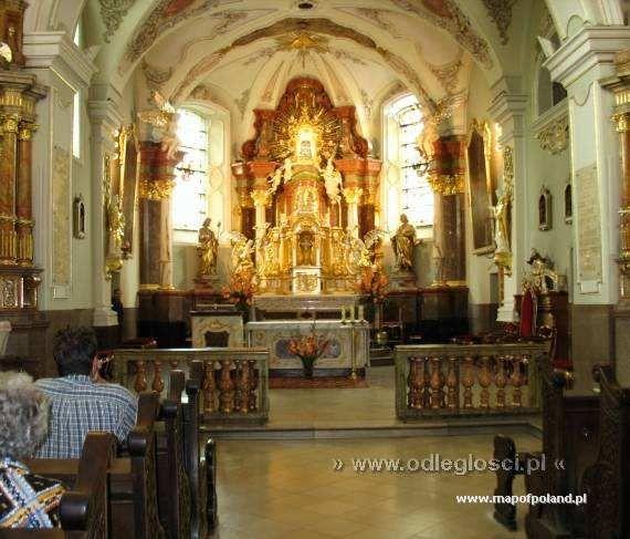 Bazylika Św. Anny - wnętrze - Góra Świętej Anny