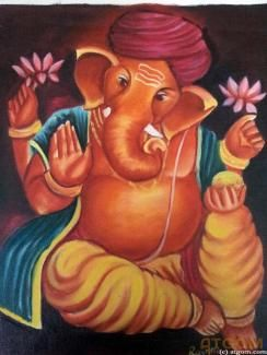 Ganesha paintings -