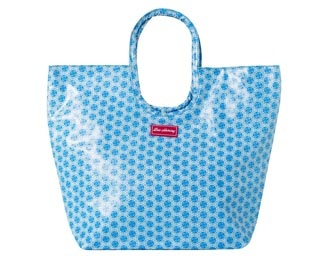 Lou Harvey - Beach Bag - Small - Circle Flower