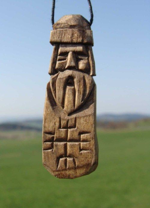 """So called the """"Hands of God"""" found on one burial urn of pre-Slavic Przeworsk culture became a symbol of Rodnovery for some Polish Rodnovers."""