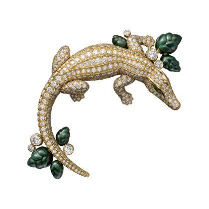 Relógio Les Indomptables de Cartier - 40 mm, ouro amarelo, diamantes - Fine Relógios para mulher - Cartier