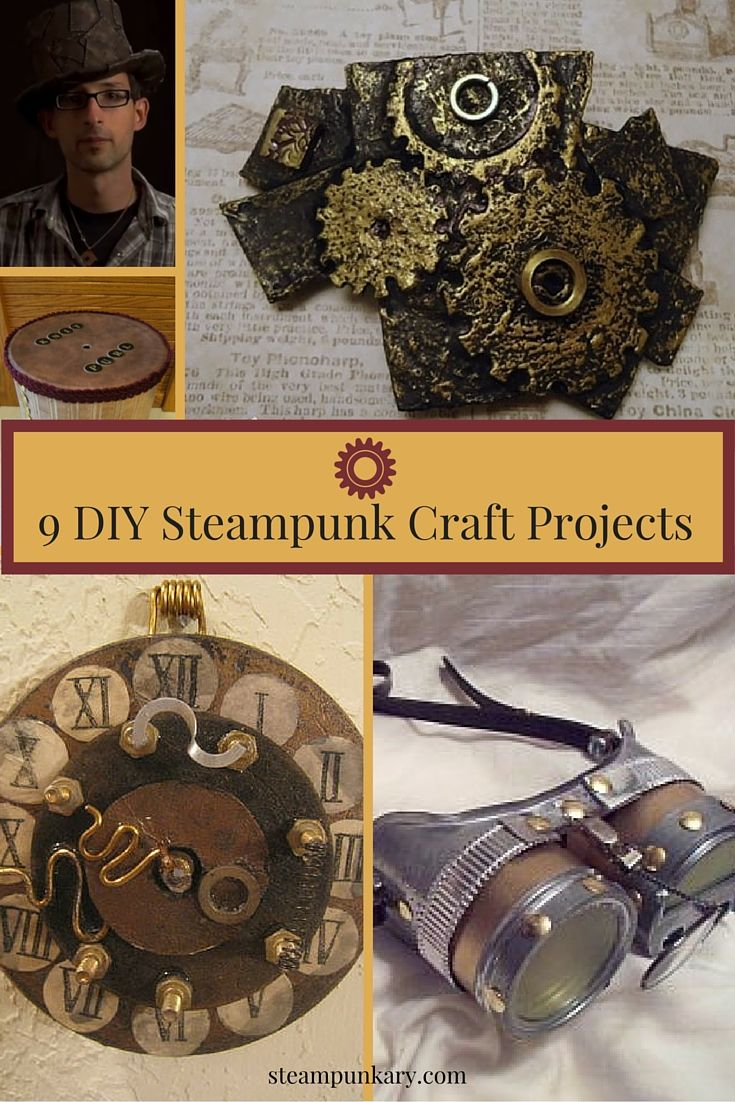 9 diy steampunk craft projects the future yarns and diy Steampunk home ideas