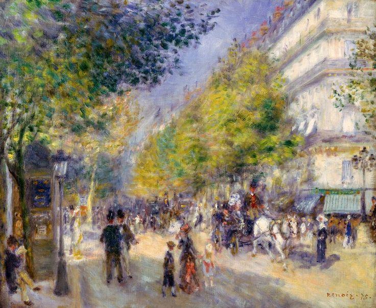 The Grands Boulevards, Renoir 1875, Fade Resistant HD Art Print in Art, Prints | eBay