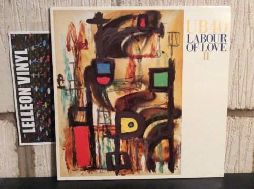 The Best Of UB40 Vol 2 Labour Of Love LP LPDEP14 80 Reggae Ali Campbell Music:Records:Albums/ LPs:Reggae/ Ska:Roots