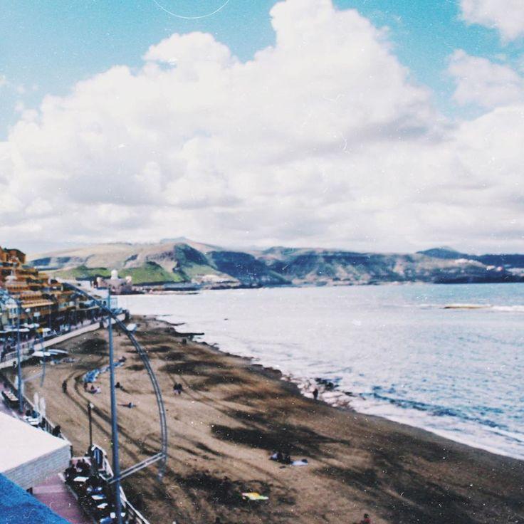 View of my hostel in laspalmasdegrancanaria hitidehostel Oh and speakinghellip