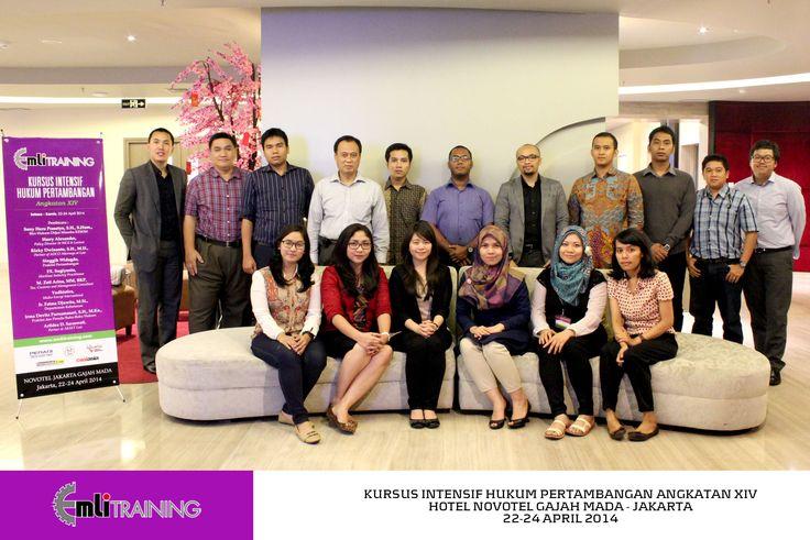 Alumni Kursus Intensif Hukum Pertambangan XIV | 22-24 April 2014