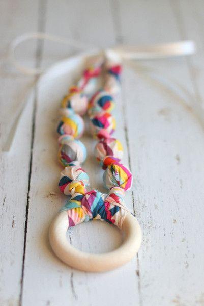 Teething Necklace | Nursing Necklace - The Vintage Honey Shop