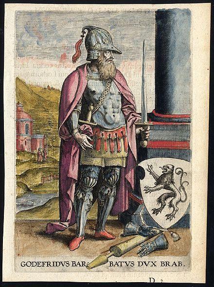 Godfrey I, Count of Louvain, Duke of Lower Lorraine, Landgrave of Brabant, Count of Brussels