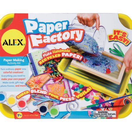 #Christmas Buy Alex Toys Paper Factory Kit for Christmas Gifts Idea Deal . Whenever shopping for a new Christmas  products, regardless of if it's with regard to her or him — there's always in which buddy, colliege or maybe relative. Yet perhaps from in which, discovering g...
