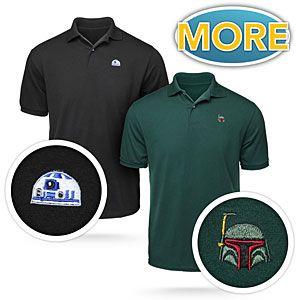 ThinkGeek :: Star Wars Helmet Polos