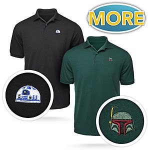 ThinkGeek :: Star Wars Helmet Polos  Pretty sure I could get away with this for work! $40